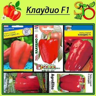 купить семена перца клаудио f1